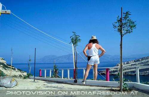 Matala Beach 02: Charly Swoboda