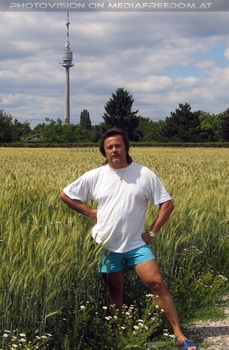 Im Feld: Charly Swoboda