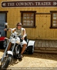 The cowboy biker