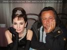 Mit Audrey Hepburn