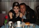 Mit Audrey Hepburn amüsiert