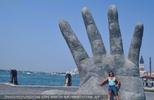 An der Hand