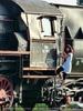 Lady train
