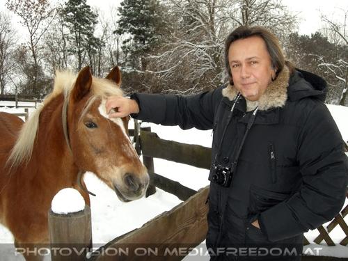 Winterlich 07 am Bauernhof: Charly Swoboda