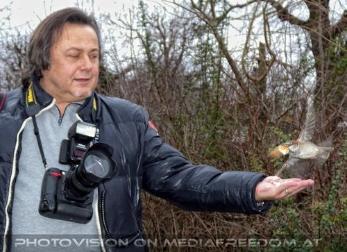 Vögel füttern 03: Charly Swoboda