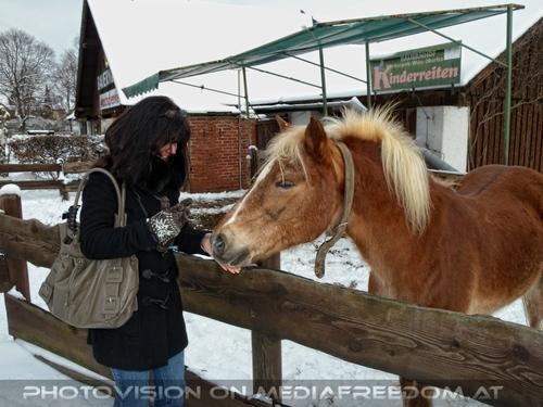 Winterlich 08 am Bauernhof: Eva D.