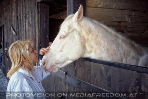 My white horse: Gabriele P.