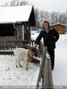 Winterlich 01 am Bauernhof