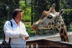 Ich und die kleine Giraffe