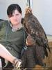 Falknerei mit Adler