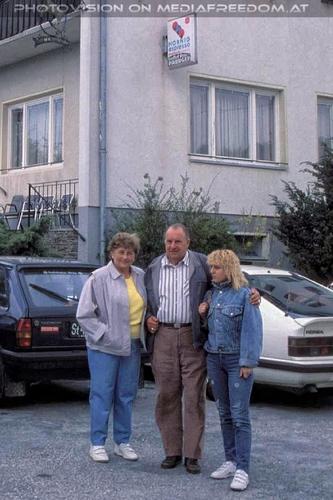 Urlaubsbesuch 01: Gertrude Swoboda,Karl Swoboda,Gabriele P.