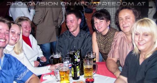Freistil 4: Tommy  ,Dani  ,Gerda  ,Charly Swoboda,Gabriele P.
