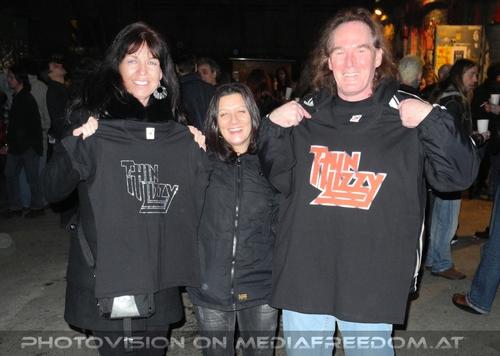 Lizzy Live Tour - Pix 40: Eva D.,Gerhard Engl