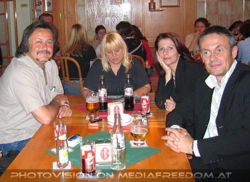 Living proof 24: Charly Swoboda,Gabriele P.,Brigitte Egretzberger,Gerhard E.