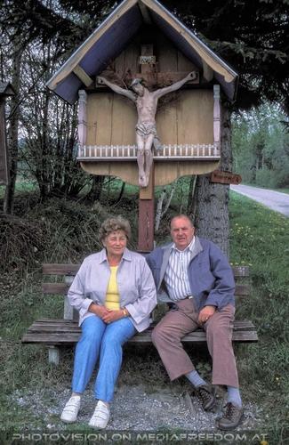 Urlaubsbesuch 04: Gertrude Swoboda,Karl Swoboda