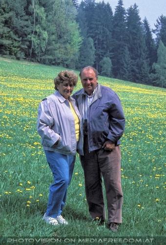 Urlaubsbesuch 11: Gertrude Swoboda,Karl Swoboda