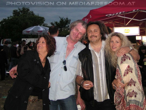 M3 live - Tour Pix 05: Heidi,Robert Asenbauer,Charly Swoboda,Andrea S.