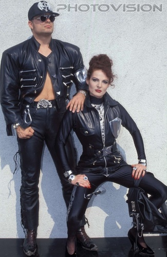 Hell bent for leather: Robert Geher,Iris Geher