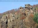 Paar auf dem Felsen
