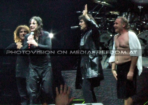 Alive 20: Geezer Butler,Ozzy Osbourne,Tony Iommi,Bill Ward
