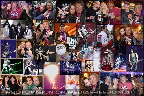 End of the road: Gene Simmons, Paul Stanley, Tommy Thayer, Eric Singer, Suzy Q Cook, Charly Swoboda