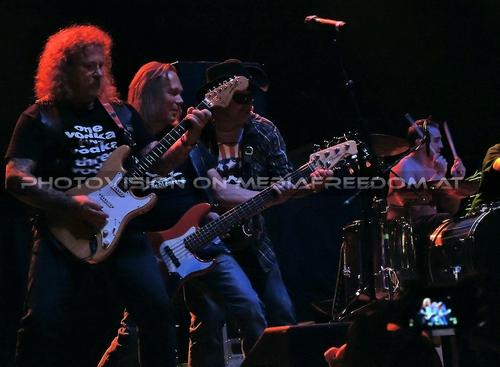 Rock and Roll Circus - Tour Pix 062: Hannes Bartsch,Thomas Gehrke (Tom),Bertl Bartsch,Mario Brodtrager