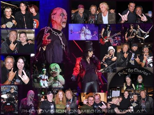 Ol' black eyes is back!: Alice Cooper, Gary Wheeler, Tanja Ghetta, Norbert Ivanek, Benny Reed, Rudi Rolliru,