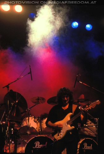 Smoke on the water: Ritchie Blackmore