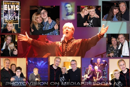 Happy Birthday Elvis and Gabi: Thomas Schreiber, Toni Matosic, Peter Rapp, Amanda Peniston-Bird, Charly Swoboda, Gabriele P.