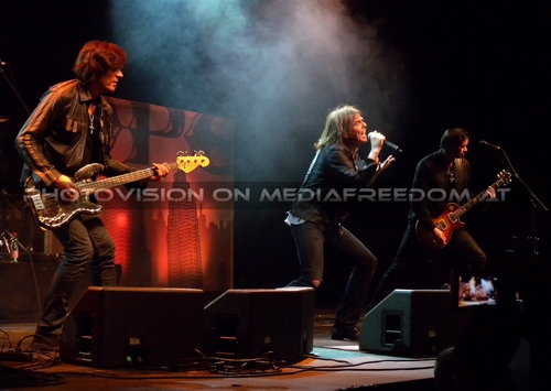 Last Look at Eden - Tour Pix 30: John Leven,Joey Tempest,John Norum