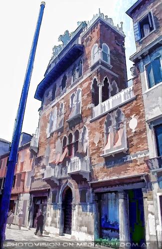Palazzo gemalt