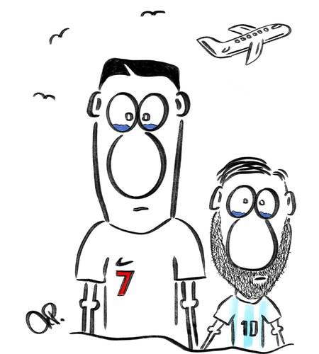 WM 2018: Ronaldo und Messi: Ronaldo, Messi
