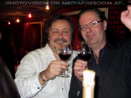 Halbzeit Party Pix 44: Charly Swoboda,Muff Sopper