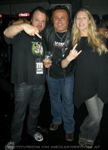 Death Magnetic Tour Pix 13: Norbert Ivanek,Charly Swoboda