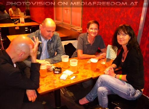 Birthday Party 29: Werner Zeph Müller,Harry Fuchs,Eva D.