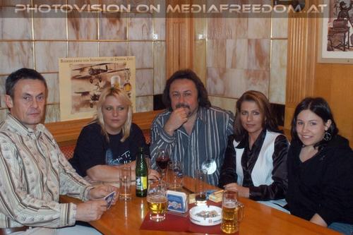 Up - Tour Pix 30: Gerhard E.,Gabriele P.,Charly Swoboda,Brigitte Egretzberger,Katrin E.