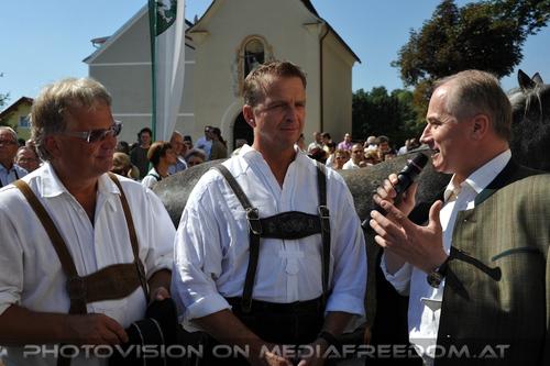 Pferde Segnung in Maria Lankowitz 17: Max Dobretsberger,Johann Seitinger
