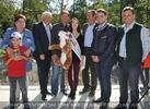 Eröffnung Paviananlage 31 (Hans Kogler, Karl Auinger, Lukas Michlmayr, Selma Buljobasic)