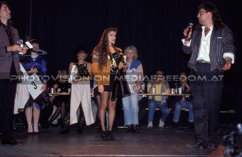 Miss Rock Wahl 30: Herbert Novacek,Biggie Waite,Sandy T.,Jasmin,Muff Sopper