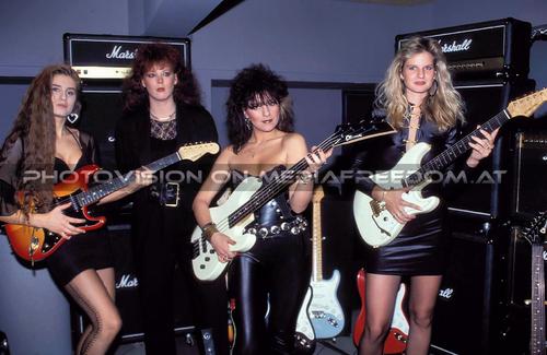 Miss Rock Wahl 33: Sandy T.,Petra Sopper,Biggie Waite