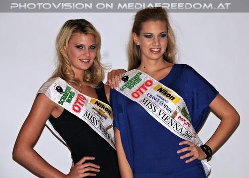 Miss Austria + Miss Vienna 2010 (01): Valentina Schlager,Sofie Schock