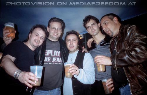 The ultra zone 09: Norbert Ivanek,Walter Brix,Charly Swoboda,Freddy Brix,Wolfgang Steffan