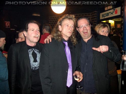 Halbzeit Party Pix 16: Hannes Bartsch,Muff Sopper
