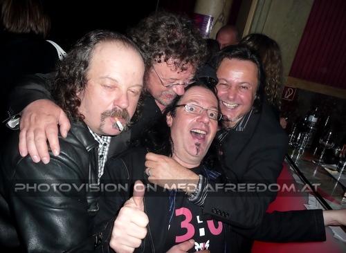 Birthday Megaparty 65: Bertl Bartsch,Hannes Bartsch,Muff Sopper,Charly Swoboda