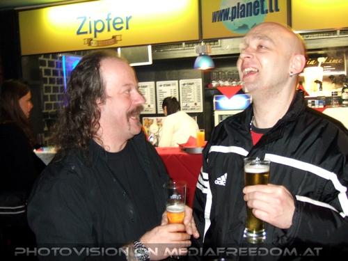 Halbzeit Party Pix 10: Bertl Bartsch,Joe Haas