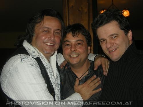 Birthday Party Pix 50: Charly F. Lovehurts (Charly Swoboda),Pete de Oliviera (Peter Swoboda),Buddy S. (Bernd Bimashofer)