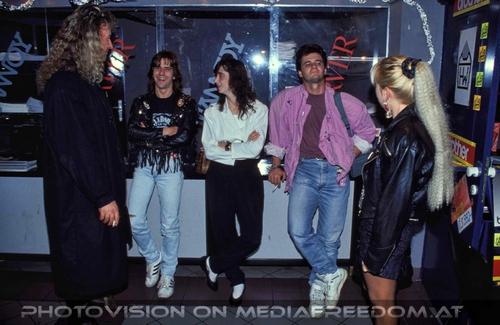 Talk about fashion: Hannes Bartsch,Alexander van Schaaf (Burning Vision),Sabina S.,Bernd Bimashofer,Gabriele P.