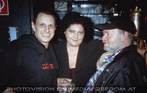 What you dont see: Manfred Blaschko,Martina Pokorny,Petzl