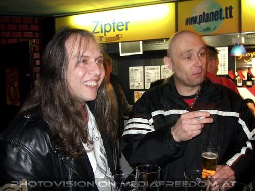 Halbzeit Party Pix 12: Martin Sobotnik,Joe Haas