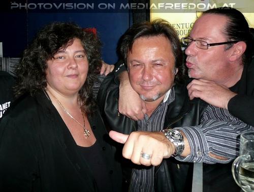 Friends in spirit: Martina Pokorny,Charly Swoboda,Muff Sopper